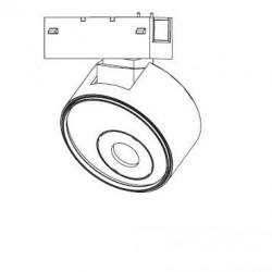 Прожектор на магнитную шину ESL D100 12W CS0040