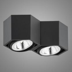 Накладной светильник Argon 736 ESPRESSO LED