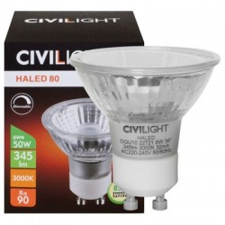 Лампа светодиодная CIVILIGHT GU10-6W-HLN