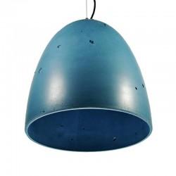 Подвесной бетонный светильник Люсси (СИНИЙ) 01102BL