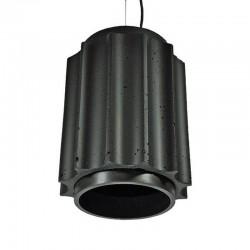 Подвесной бетонный светильник Грото (ЧЕРНЫЙ) 01106B