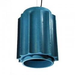 Подвесной бетонный светильник Грото (СИНИЙ) 01106BL
