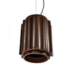 Подвесной бетонный светильник Грото (КОРИЧНЕВЫЙ) 01106BR