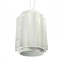 Подвесной бетонный светильник Грото (БЕЛЫЙ) 01106W