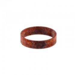 Бетонное кольцо - вставка для светильника Грото (ржавый металл) 01108MET
