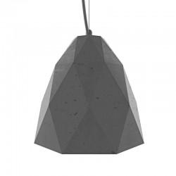 Подвесной бетонный светильник Бриолет (серый) 01109G