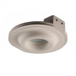 Встраиваемый гипсовый светильник СВ 002 01202W