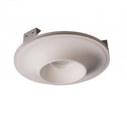 Встраиваемый гипсовый светильник СВ 030 01203W