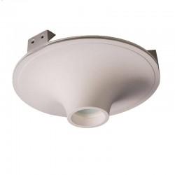 Встраиваемый гипсовый светильник СВ 031 01204W