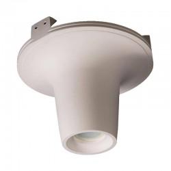 Встраиваемый гипсовый светильник СВ 032 01205W