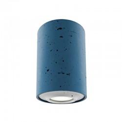 Накладной бетонный светильник CH001 (синий) 01111BL
