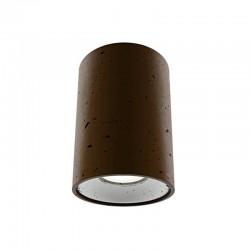 Накладной бетонный светильник CH001 (коричневый) 01111BR