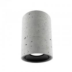 Накладной бетонный светильник CH001 (серый) 01111G