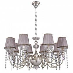 Люстра Crystal lux ALEGRIA SP8 SILVER-BROWN