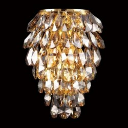 Бра Crystal lux CHARME AP2+2 LED ORO/AMB