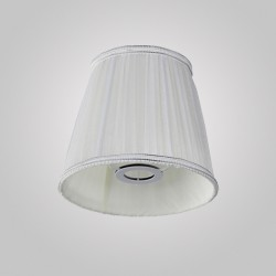 Абажур Crystal lux LAMPSHADE EMILIA WHITE