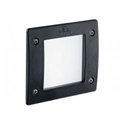 Точечный светильник Ideal Lux LETI SQUARE FI1 NERO 096582