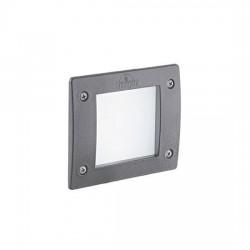 Точечный светильник Ideal Lux LETI SQUARE FI1 GRIGIO 096599