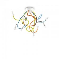 Люстра IDEAL LUX 159010 PL8 Color Multiflex