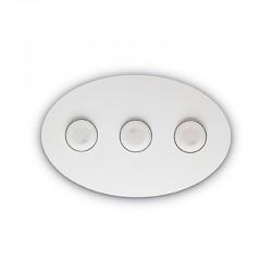 Потолочный светильник IDEAL LUX 175768 PL3 Bianco Logos