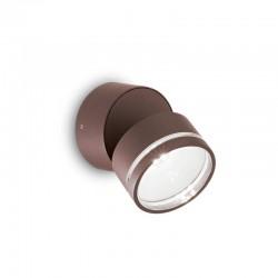 Накладной светильник Ideal Lux 247069 Omega AP Round Coffee 4000K