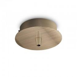 Крепление Ideal Lux 249261 Rosone Metallo 1 Luce Ottone Brunito