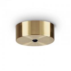 Крепление Ideal Lux 249308 Rosone Magnetico 1 Luce Ottone Brunito