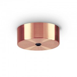 Крепление Ideal Lux 249315 Rosone Magnetico 1 Luce Rame Brunito