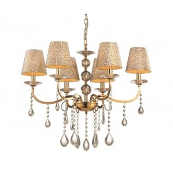 Люстра Ideal Lux PANTHEON SP6 ORO 088068