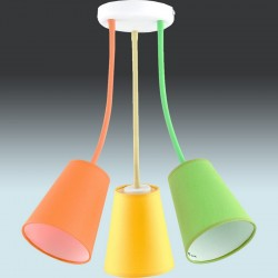 Люстра TK Lighting 2106 WIRE COLOUR